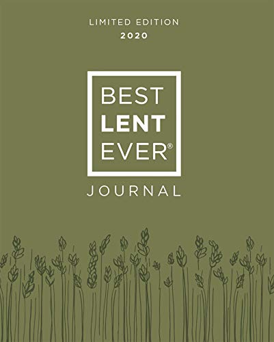 Best Lent Ever Journal: Limited Edition 2020