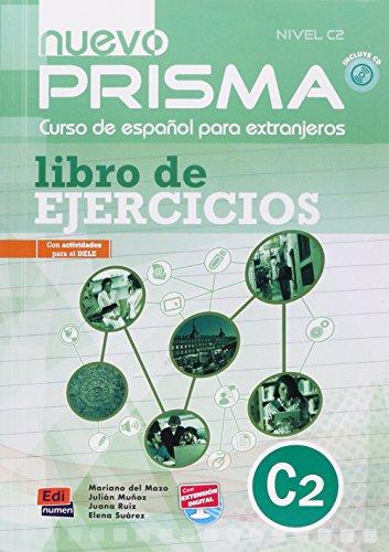 Nuevo Prisma C2: Exercises Book + CD