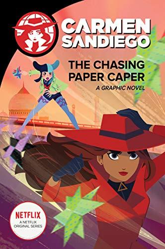 The Chasing Paper Caper (Carmen Sandiego Graphic Novels, #3)