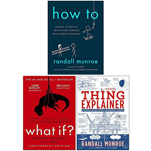 Randall Munroe Collection 3 Books Set
