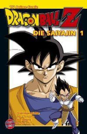 Dragon Ball Z Die Saiyajin 1 (Dragon Ball Z Anime Comics Saiyajin, #1)