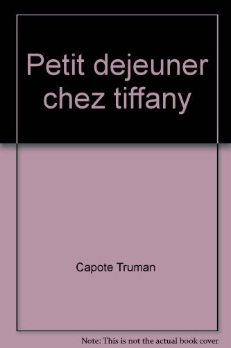 PETIT DEJEUNER CHEZ TIFFANY