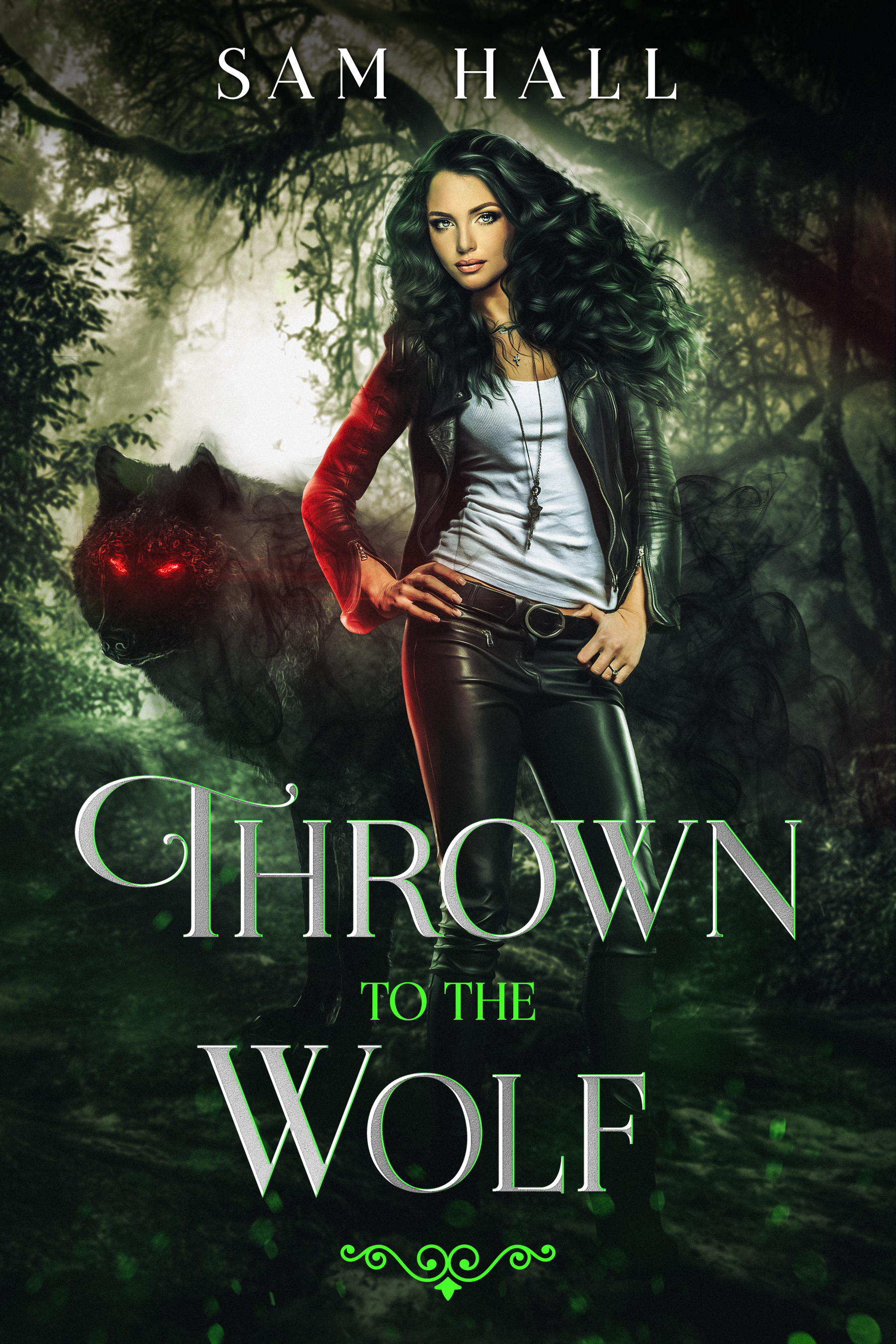 Thrown to the Wolf (Pack Heat, #3)