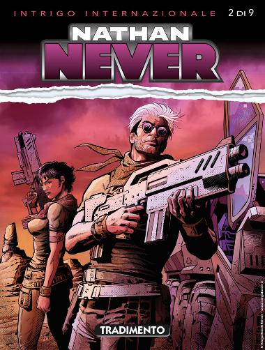 Nathan Never n. 344: Tradimento