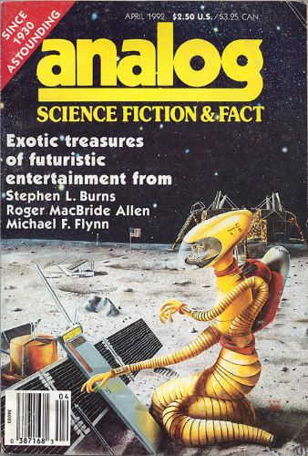 Analog Science Fiction and Fact, April 1992