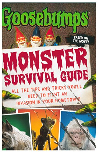 Goosebumps The Movie: Monster Survival Guide [Paperback] [Jan 01, 2015] R.L.STINE