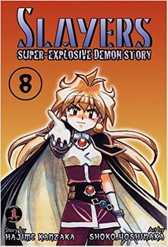 Slayers Super-Explosive Demon Story Volume 8