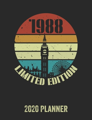 1988 Limited Edition 2020 Planner: Daily Weekly Planner with Monthly quick-view/over view with 2020 Planner
