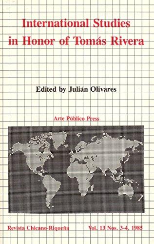 International Studies in Honor of Tomás Rivera