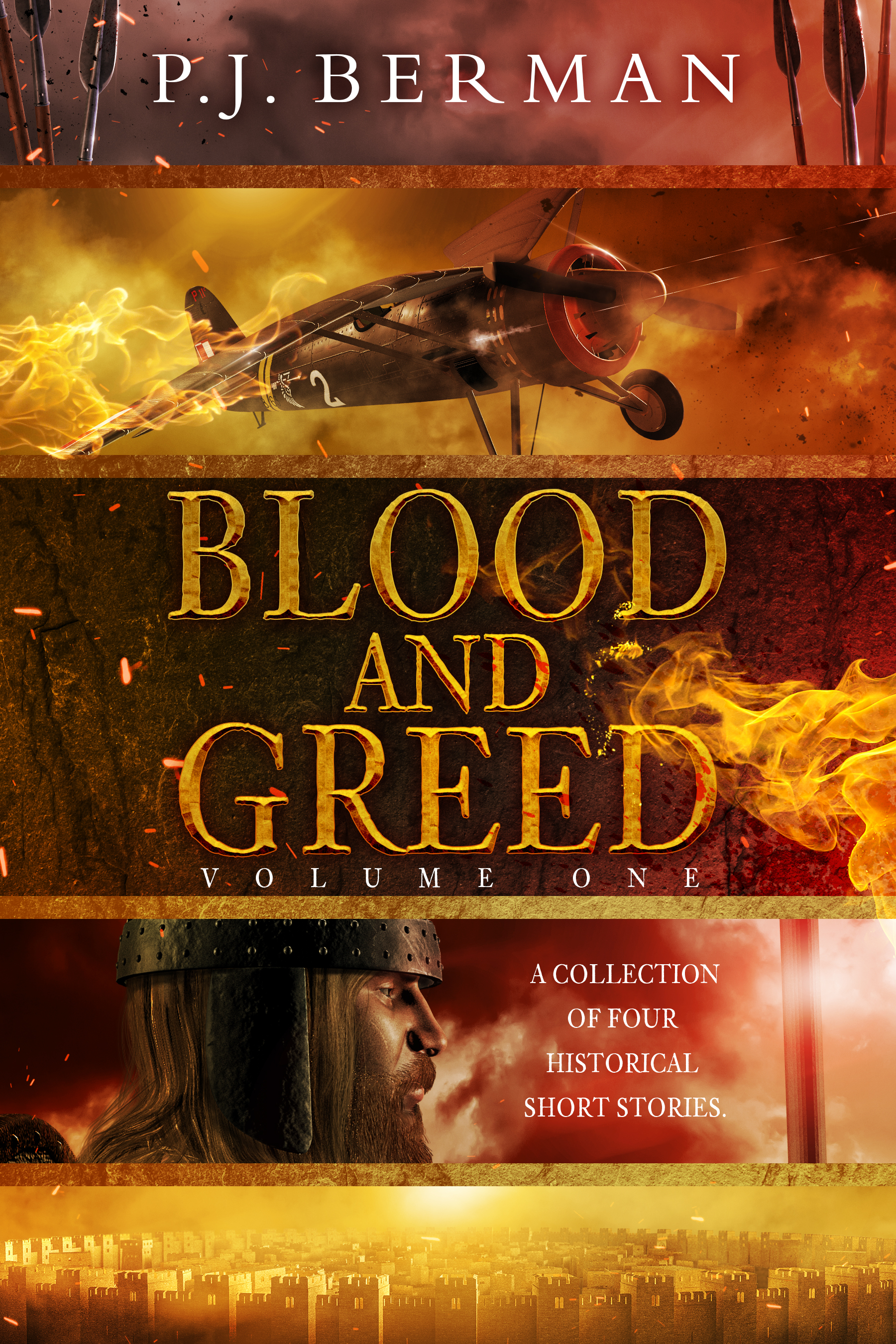 Blood and Greed: Volume 1: Short Stories of Historical Fiction