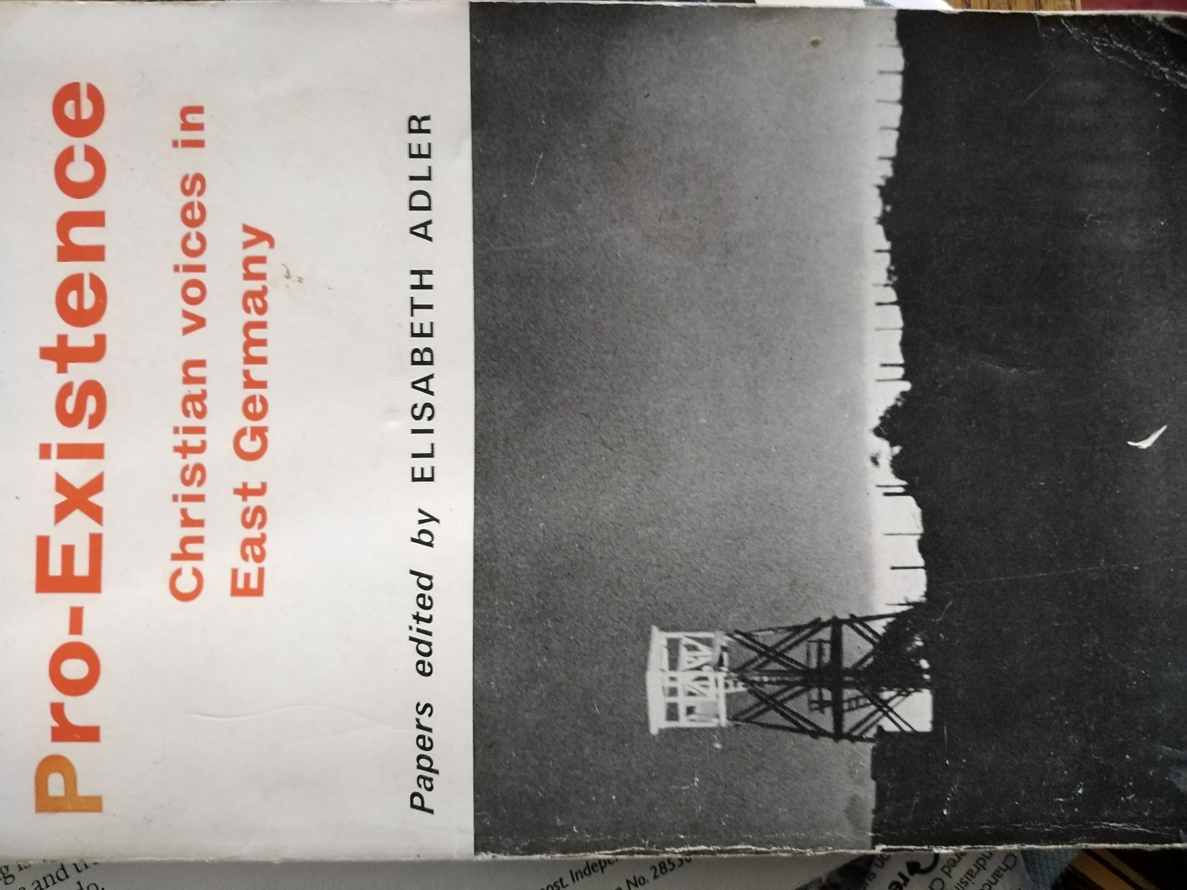 Pro-Existence; Christian voices in East Germany