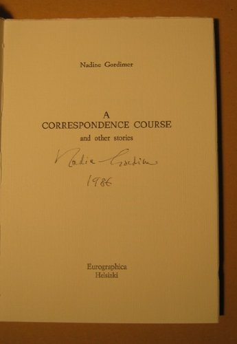 A Correspondence Course and Other Stories