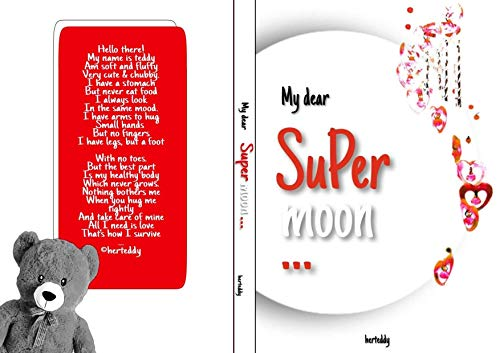 My dear Supermoon: A collection of love poetries and quotes