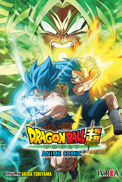 Dragon Ball Super Anime Comic: Broly