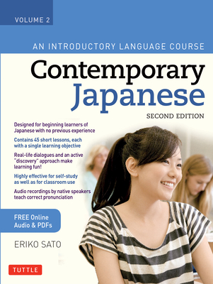 Contemporary Japanese Textbook Volume 2: An Introductory Language Course