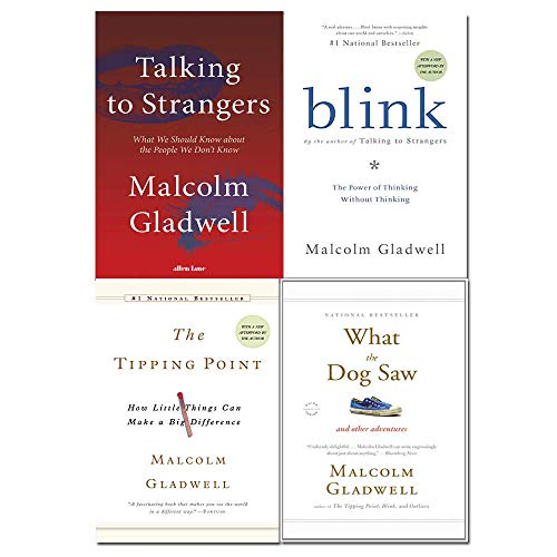 Malcolm Gladwell 4 Books Collection Set