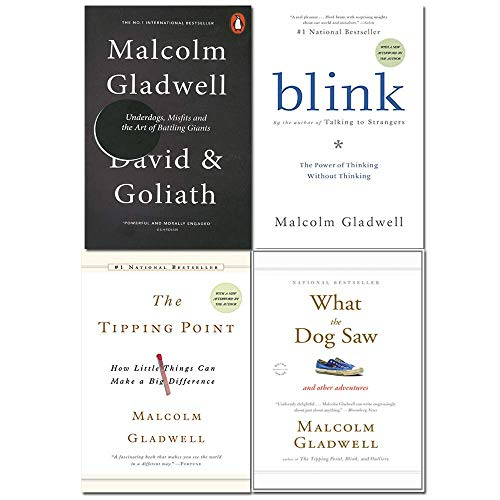 Malcolm Gladwell Collection 4 Books Set