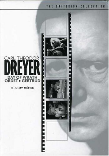 Carl Theodor Dreyer Set (Day of Wrath / Ordet / Gertrud / My Metier)