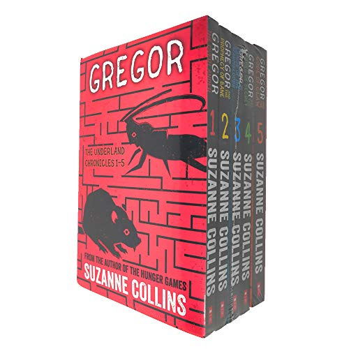Gregor The Underland Chronicles 5 Books Collection Set (1-5)