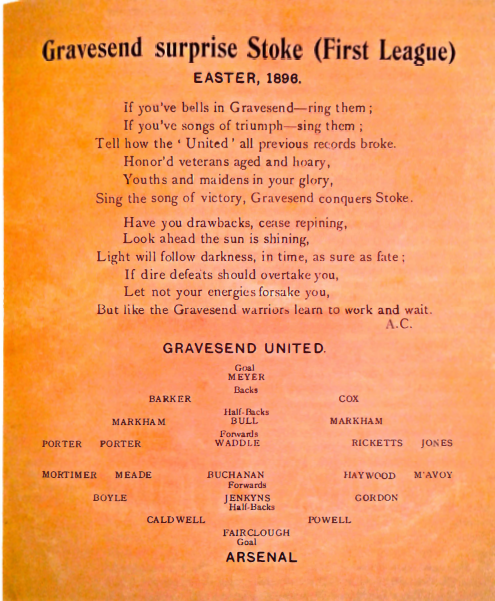 Gravesend surprise Stoke