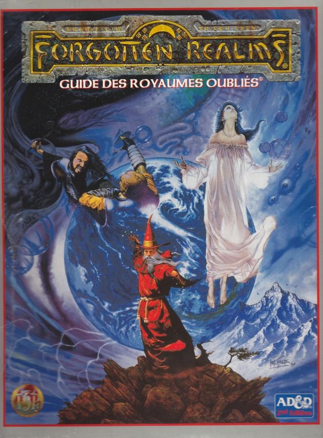 Forgotten Realms - La boîte(Advanced Dungeons & Dragons 2e édition)