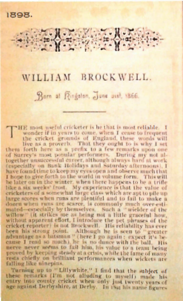 William Brockwell