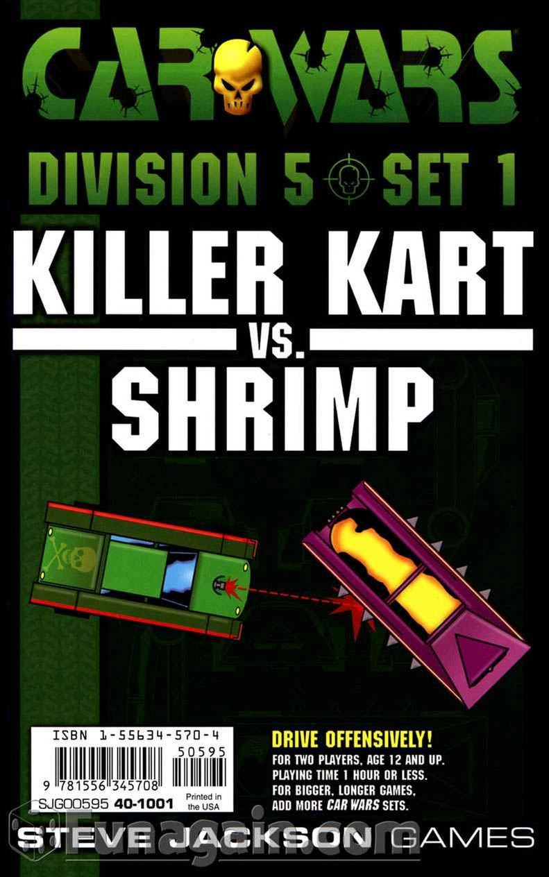 Killer Kart vs. Shrimp (Car Wars Division 5; Set 1)