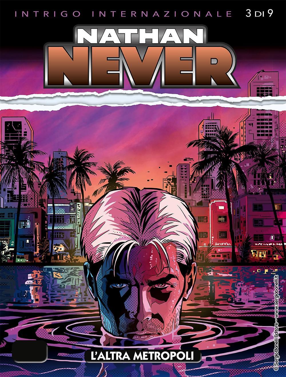 Nathan Never n 345: L'altra metropoli