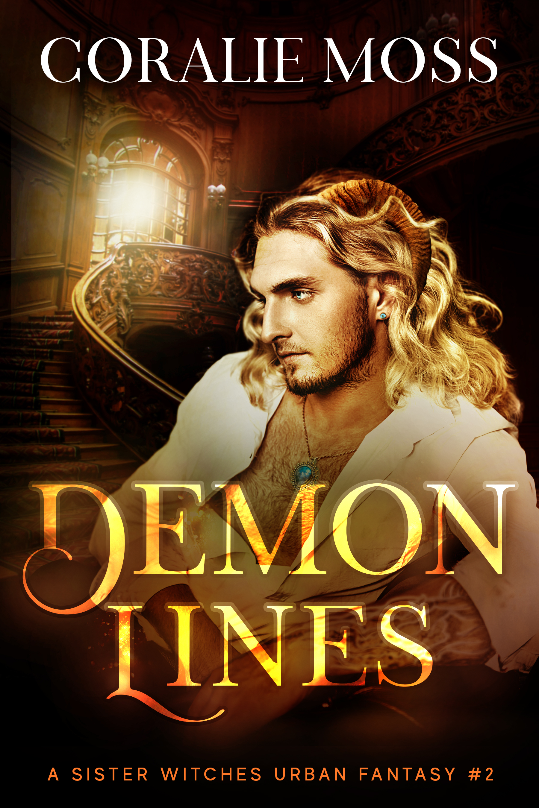 Demon Lines (A Sister Witches Urban Fantasy #2)