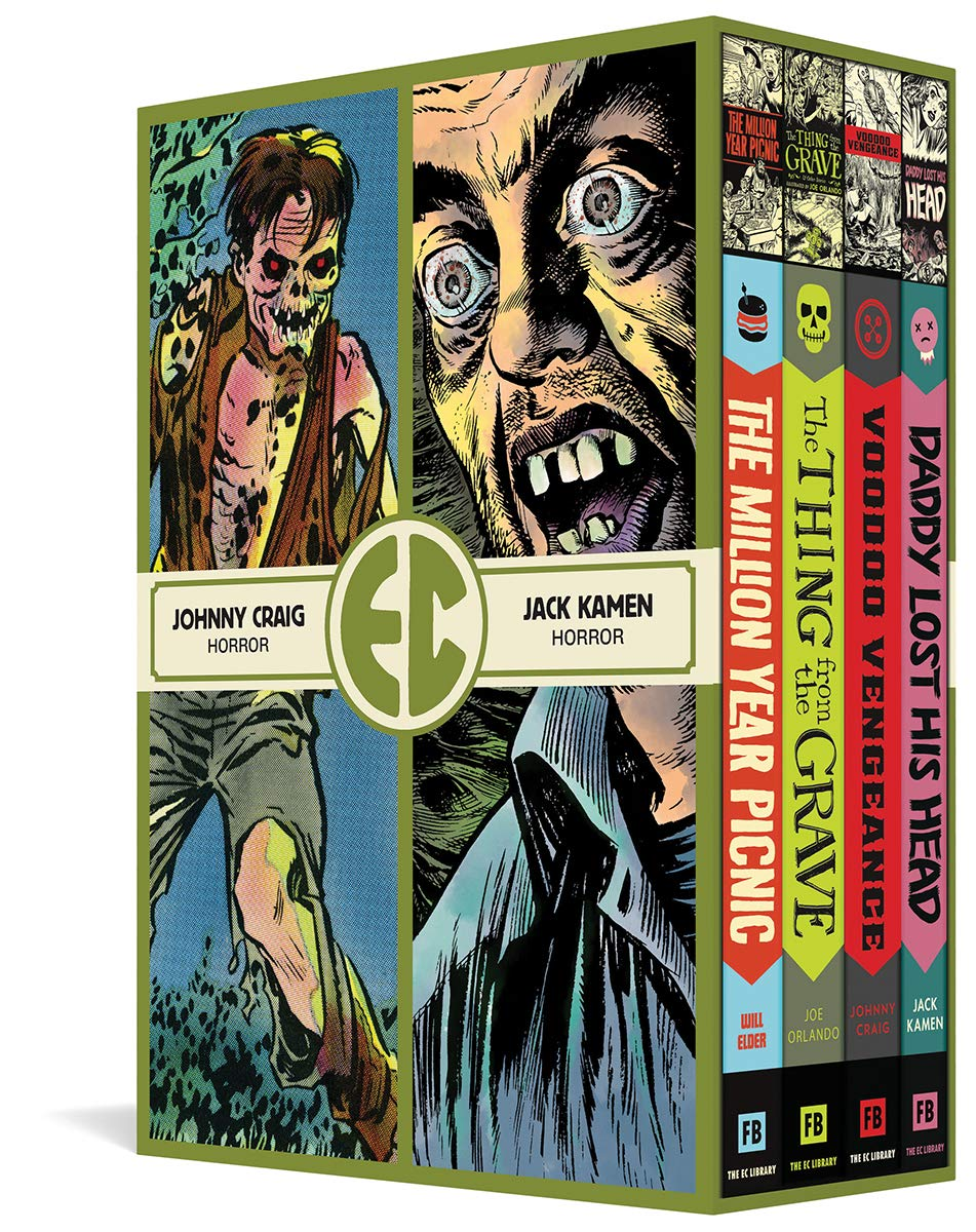 The EC Artists Library Slipcase Volume 5