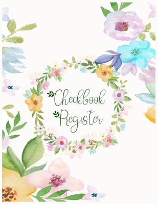 Checkbook Register: Check Register for Personal Checkbook - Checking Account Register - Check Book Registrar & Bank Transaction Log for Bussiness and personal use - ledger Bookkeeping - gift for coworker.
