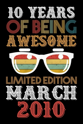 10 Years Of Being Awesome Limited Edition February 2010