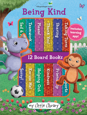 My Little Library: Being Kind (12 Board Books 3 Downloadable Apps!)