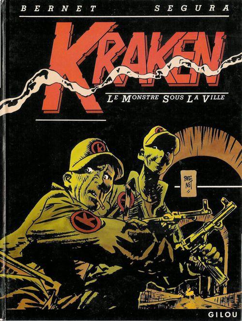 Le monstre sous la ville (Kraken, #1)