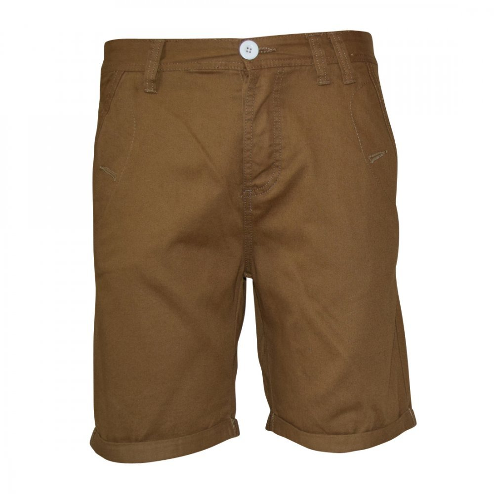 Soul Star Men's Melton Chino Casual Short - Choice of Colors