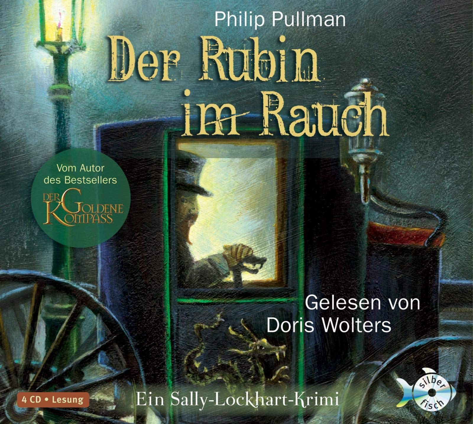 Der Rubin im Rauch [Tontraeger] In Sally-Lockhart-Krimi; gekuerzte Lesung. Silberfisch