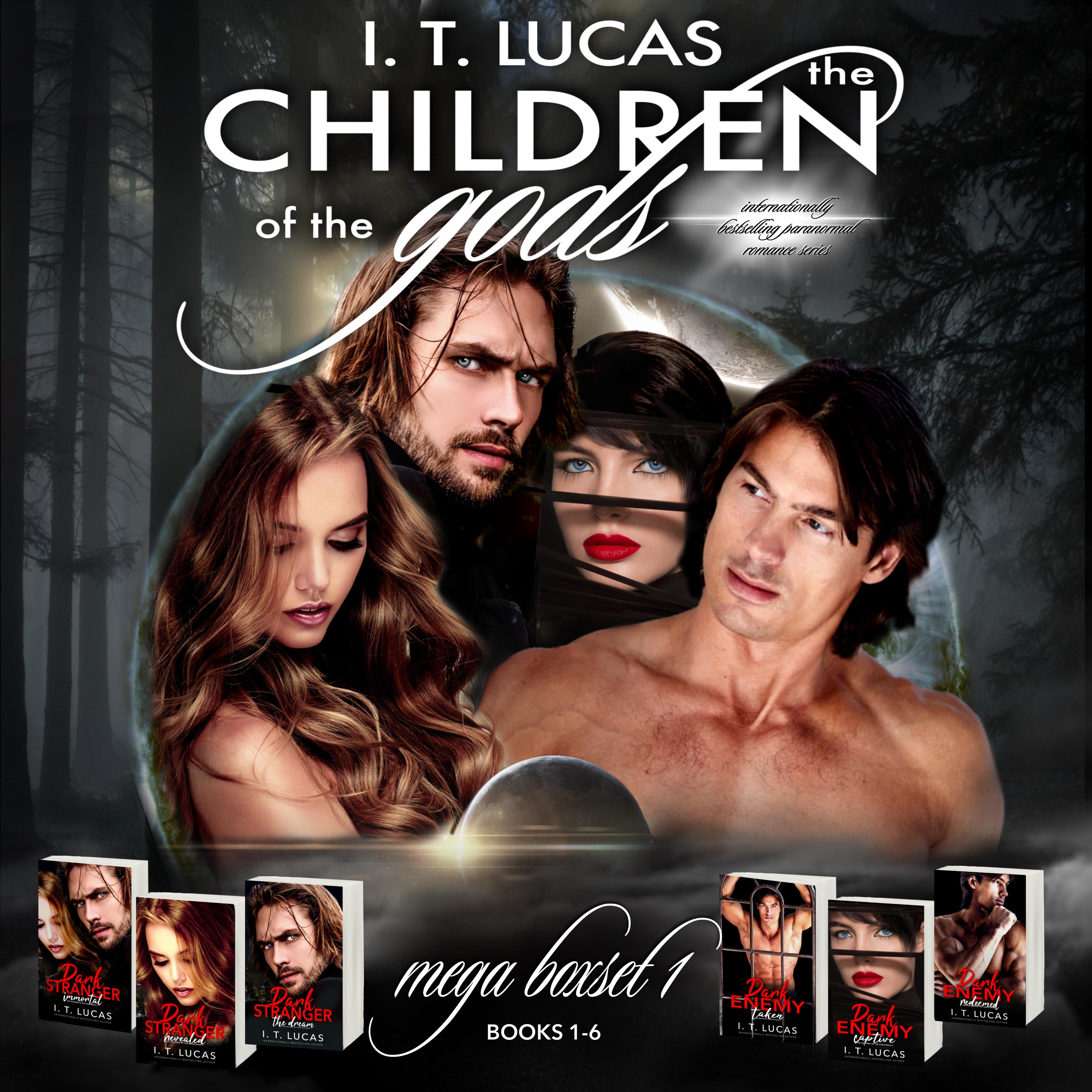 The Children Of The Gods; Mega Boxset 1 (The Children Of The Gods, #1 To #6)