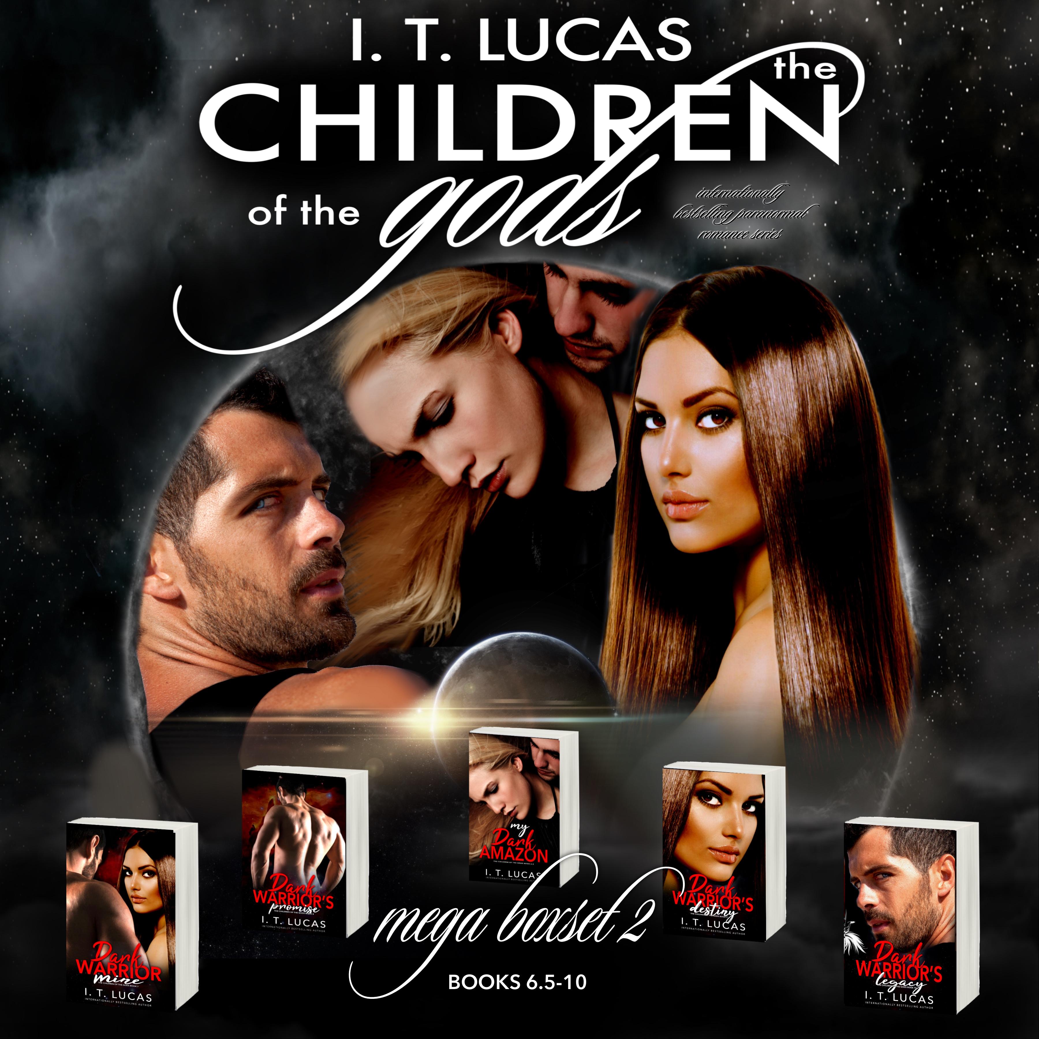 The Children Of The Gods; Mega Boxset 2 (The Children Of The Gods, #6.5 To #10)