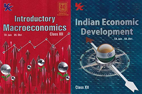 Introductory Macroeconomics and Indian Economic Development Class 12 CBSE (Set of 2 Books) (2020-21 Session)