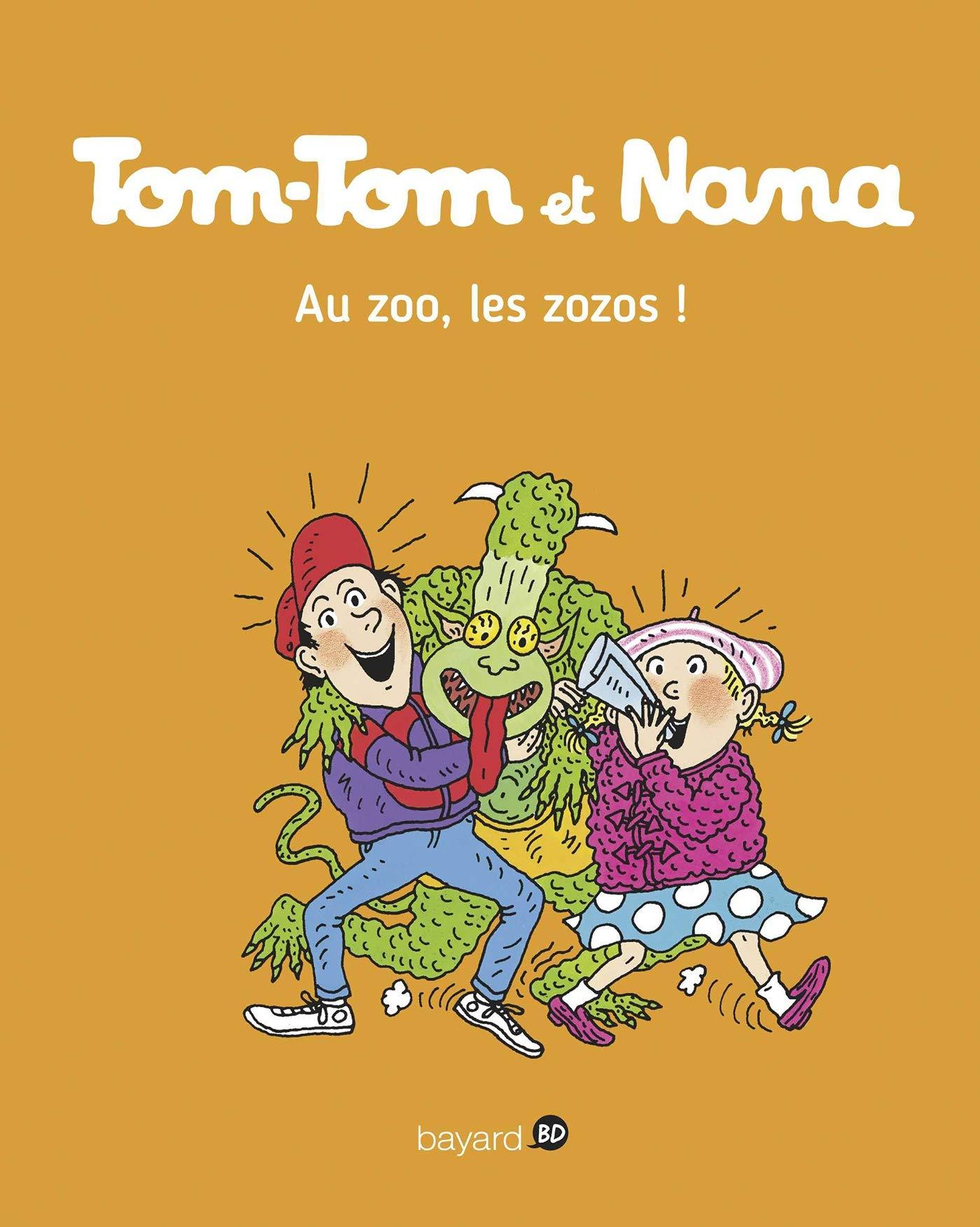 Tom-Tom et Nana, Tome 24: Au zoo les zozos ! (Tom-Tom et Nana (24))
