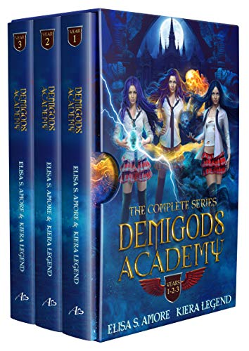Demigods Academy Box Set - The Complete Series (Young Adult Supernatural Urban Fantasy) (Demigods Chronicles Book 1)