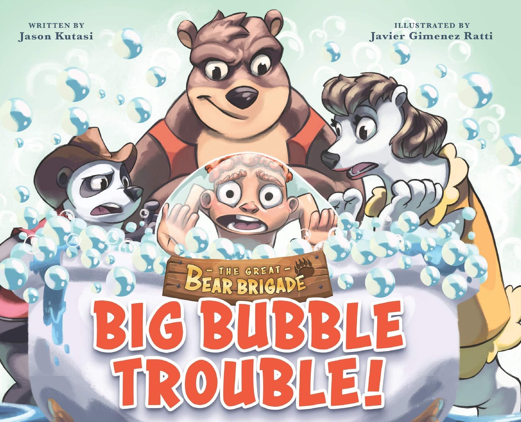 The Great Bear Brigade: Big Bubble Trouble!