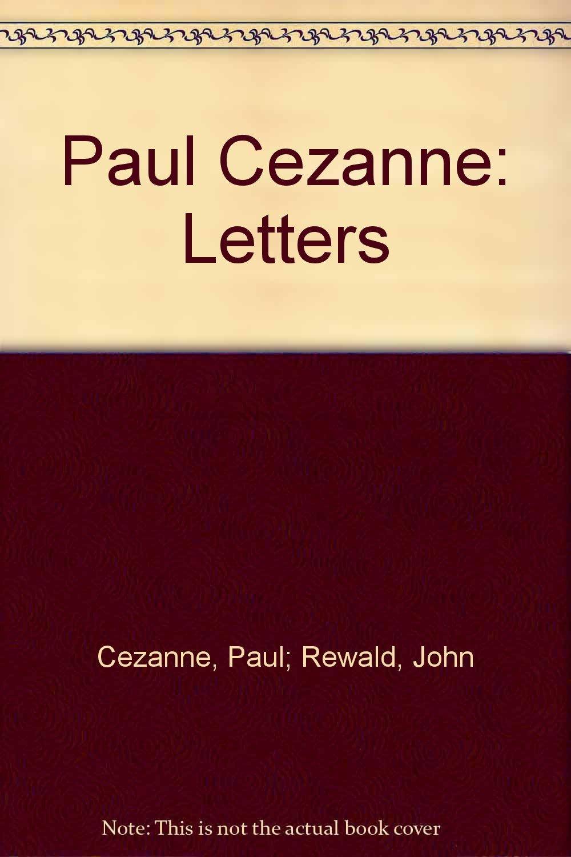 Paul Cezanne Letters