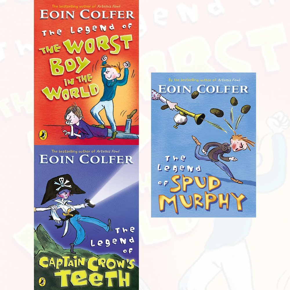 Eoin Colfer Collection 3 Books Set