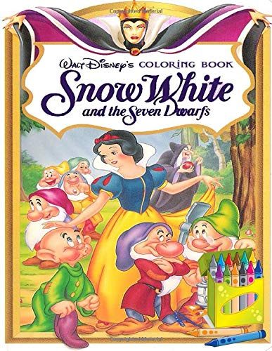 Snow White And The Seven Dwarfs Coloring Book: Color Wonder Snow White And The Seven Dwarfs Coloring Book Pages & Markers, Mess Free Coloring, Wonderful Gift for Kids And Adults