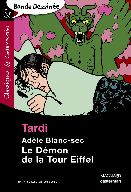 n° 13 Adèle Blanc Sec - Le démon de la tour Eiffel
