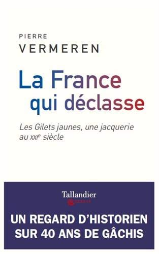 La France qui déclasse: les gilets jaunes, une jacquerie au xxie siècle