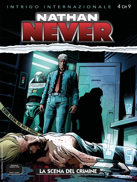 Nathan Never n. 346: La scena del crimine