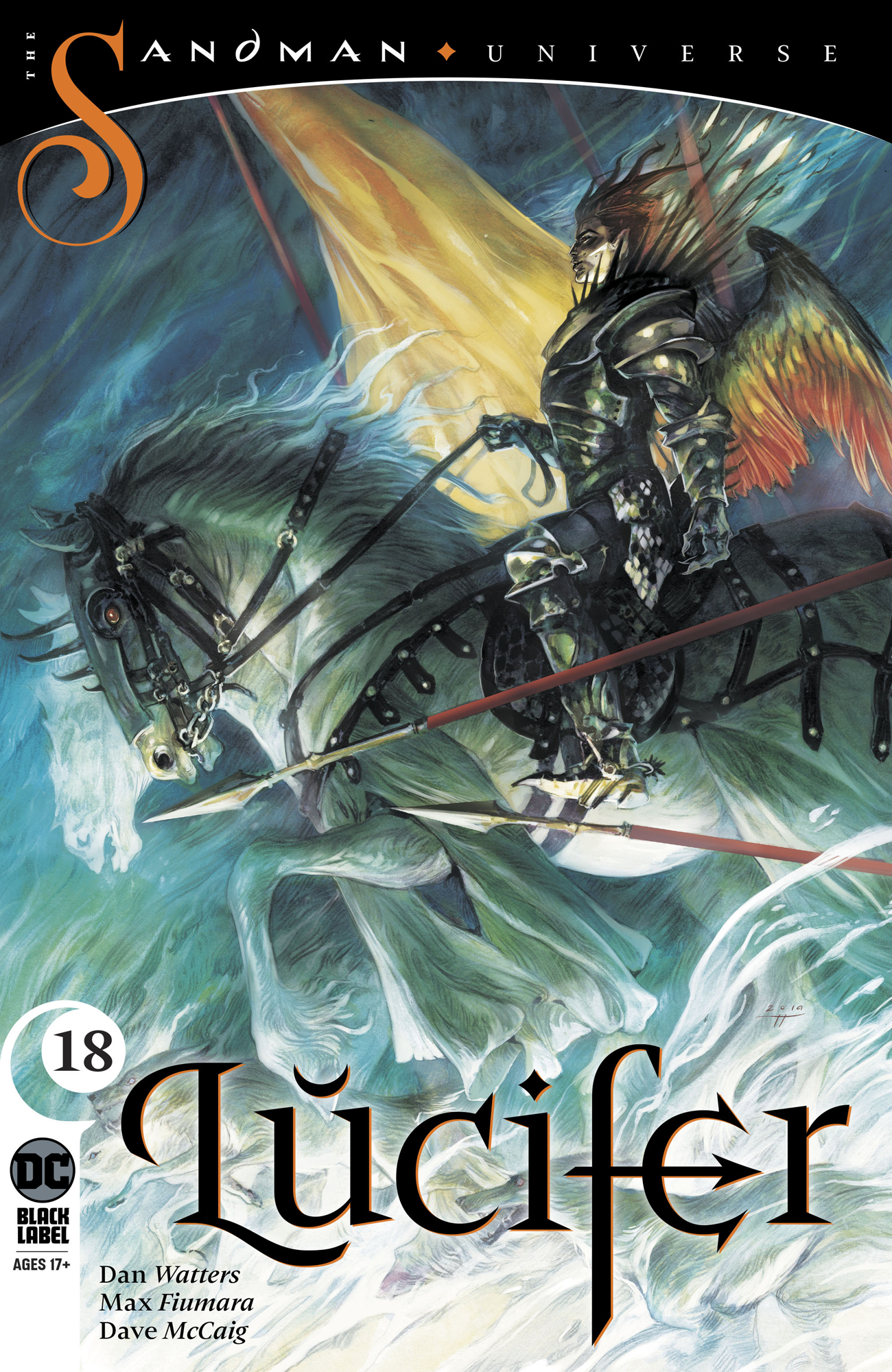 Lucifer (2018) #18: The Devil Did A Bad Thing