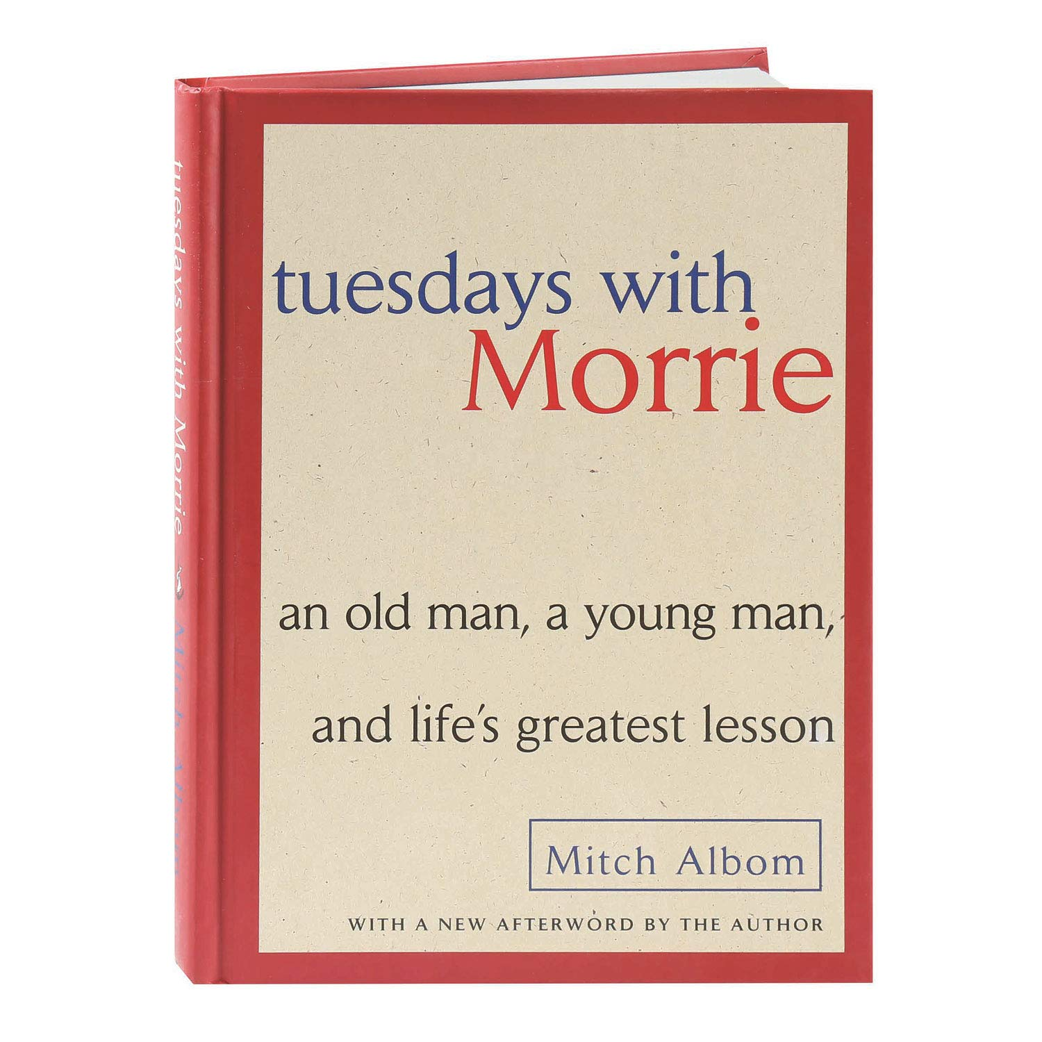 Tuesdays with Morrie Publisher: Doubleday; 1st (first) edition Text Only